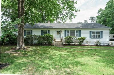Mechanicsville VA Single Family Home For Sale: $275,000