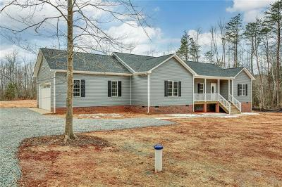 Powhatan County Single Family Home For Sale: Bell Road