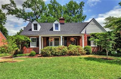 Richmond Single Family Home For Sale: 205 Commonwealth Avenue