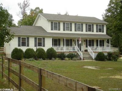 Amelia County Single Family Home For Sale: 19345 Genito Road
