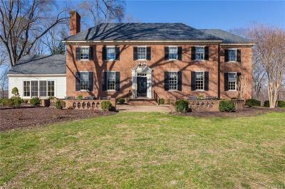 Henrico Single Family Home For Sale: 8730 River Road