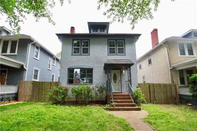 Single Family Home For Sale: 804 Overbrook Road