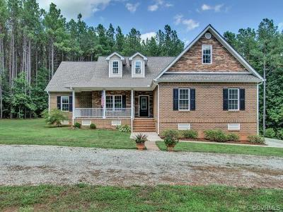 Powhatan County Single Family Home For Sale: Ridge Road