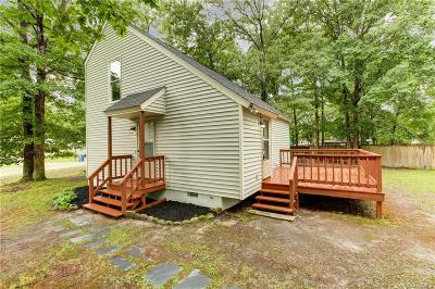 Chester VA Single Family Home For Sale: $189,900