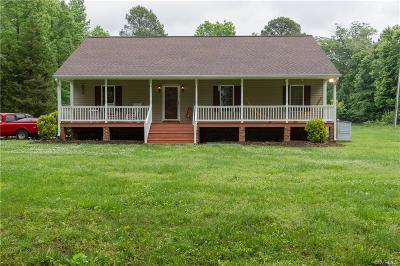 Henrico Single Family Home For Sale: 8921 Old Rebel Trail