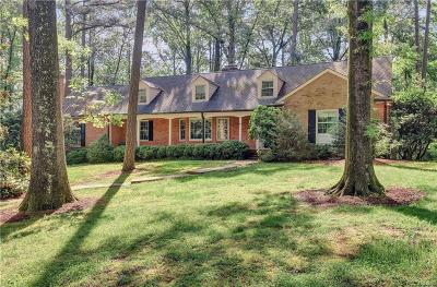 Henrico County Single Family Home For Sale: 103 Raven Rock Road