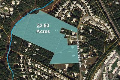 Dinwiddie Land For Sale: 11420 Womack Road