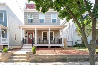 Richmond Single Family Home For Sale: 1401 Oakwood Avenue