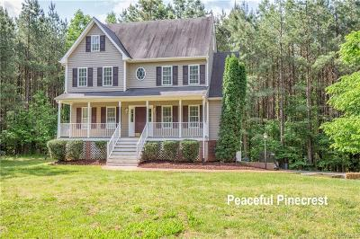 Powhatan County Single Family Home For Sale: 2550 Pineacre Court