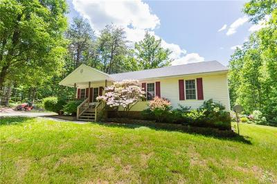 Louisa Single Family Home For Sale: 47 S Fork Drive