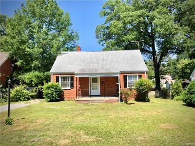 Richmond Single Family Home For Sale: 6404 Morningside Drive