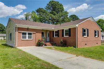 Petersburg Single Family Home For Sale: 3511 Francis Street