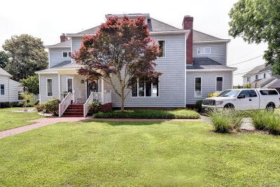 King William County Single Family Home For Sale: 416 Second Street