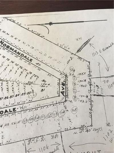 Land For Sale: 1109 Normandale Avenue