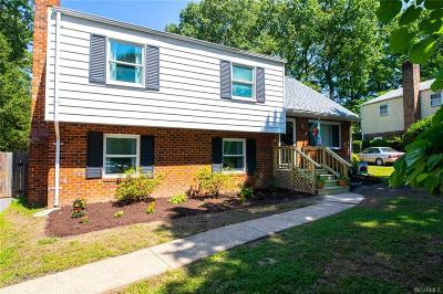 Chesterfield Single Family Home For Sale: 9612 Riddle Road