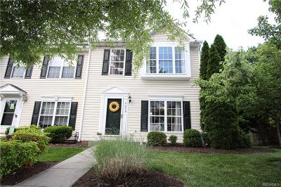 Henrico County Condo/Townhouse For Sale: 8649 Millstream Drive