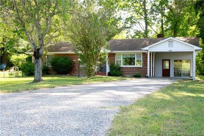 Heathsville Single Family Home For Sale: 515 Mill Point Drive