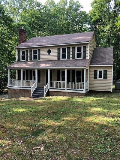 Powhatan County Single Family Home For Sale: 2000 Westwood Court