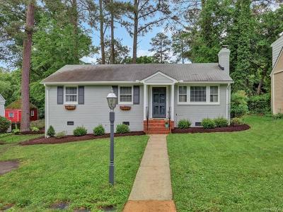 Henrico County Single Family Home For Sale: 1019 Orchard Road