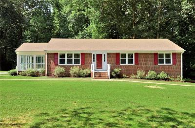 Powhatan Single Family Home For Sale: 4309 Pierce Road