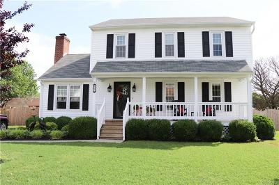 Colonial Heights Single Family Home For Sale: 607 Woodcliffe Drive