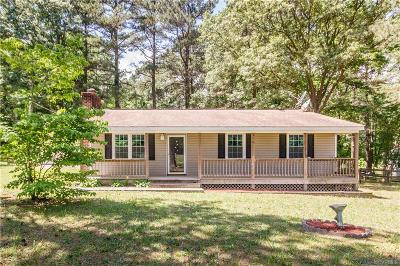 Single Family Home For Sale: 14912 Nash Road