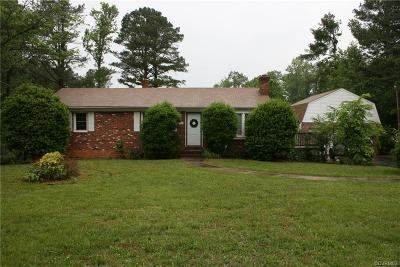 Powhatan Single Family Home For Sale: 1748 Page Road