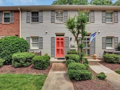 Henrico County Condo/Townhouse For Sale: 9103 Derbyshire Road #C