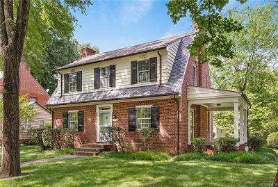 Richmond Single Family Home For Sale: 1512 Brookland Parkway