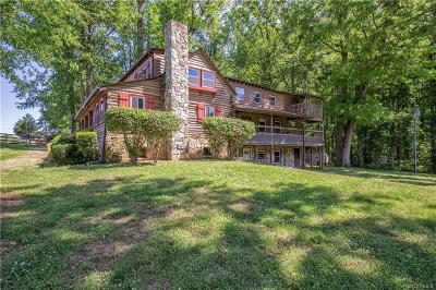 Amelia County Single Family Home For Sale: 13201 Dykeland Road