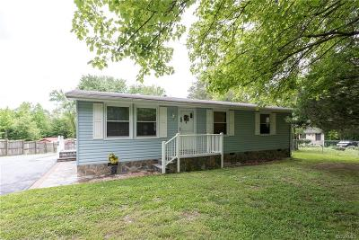 Ruther Glen Single Family Home For Sale: 22200 Cool Water Drive
