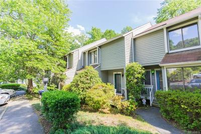 North Chesterfield Condo/Townhouse For Sale: 9821 Groundhog Drive