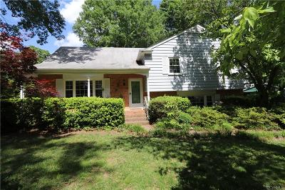 Henrico County Single Family Home For Sale: 7809 E Yardley Road