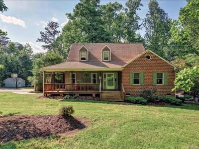 Powhatan County Single Family Home For Sale: 3520 Timberview Road
