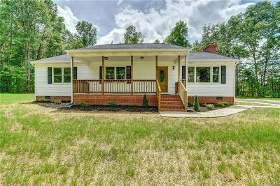Single Family Home For Sale: 7410 Colemans Lake Road