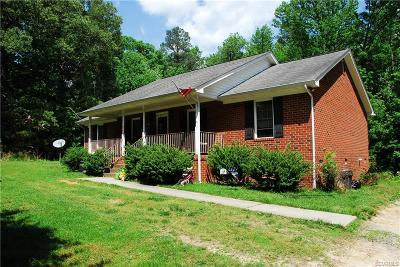 Ruther Glen Single Family Home For Sale: 26351 Gravel Hill Road