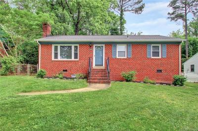 Richmond Single Family Home For Sale: 806 Sibley Avenue