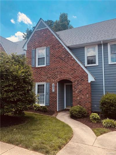 Henrico County Condo/Townhouse For Sale: 4931 Cavan Green Court