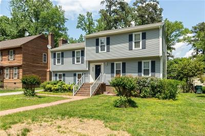 Henrico County Single Family Home For Sale: 6908 W Grace Street