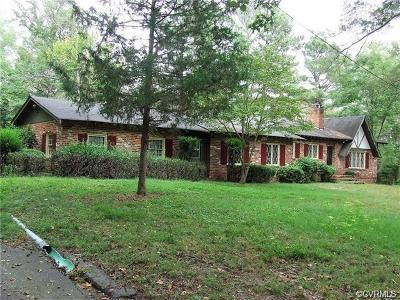 Chester, Chesterfield Single Family Home For Sale: 4016 Alpine Road