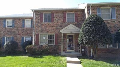 North Chesterfield Condo/Townhouse For Sale: 6003 Newington Drive