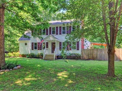 Powhatan Single Family Home For Sale: 4089 Jefferson Woods Drive