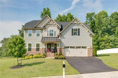 Colonial Heights, Hopewell, Prince George Single Family Home For Sale: 7522 Rolling Hill Road
