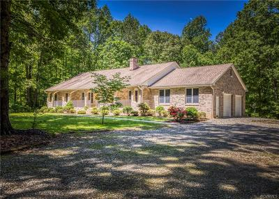 Powhatan County Single Family Home For Sale: 3960 Mosco Court