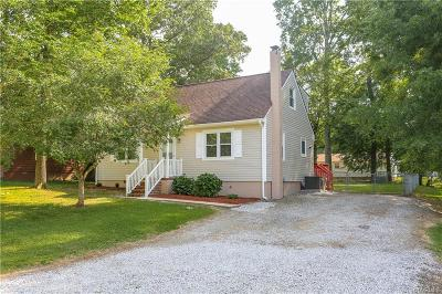 Chester, Chesterfield Single Family Home For Sale: 14104 S Hackberry Road