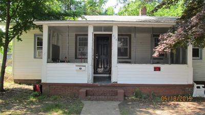 Single Family Home For Sale: 805 E Poythress Street