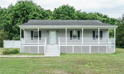 Chesterfield County Single Family Home For Sale: 21616 Stuart Avenue
