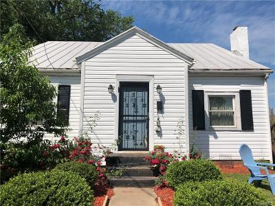Petersburg Single Family Home For Sale: 12 Elm Street
