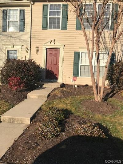 Henrico Condo/Townhouse For Sale: 9202 Stone Meadow Drive