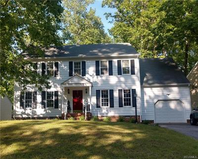 Chesterfield County Single Family Home For Sale: 5007 Cedar Cliff Road